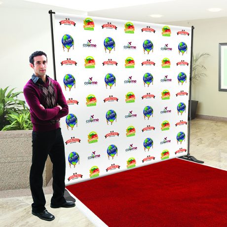 Backdrop Stand (Step & Repeat Example)
