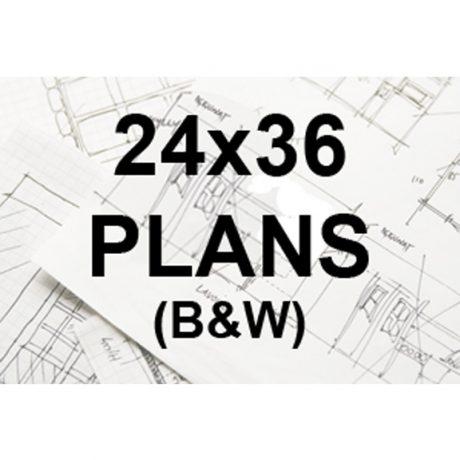 24×36 blueprint