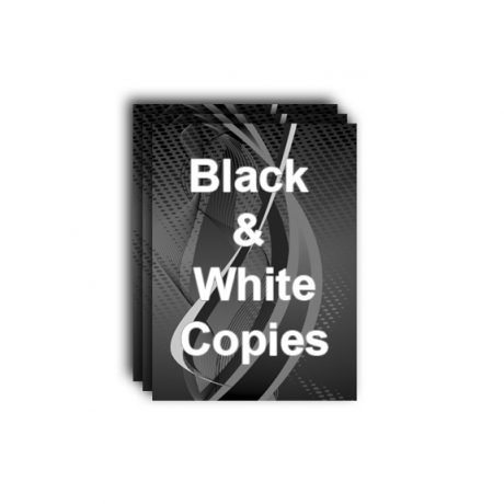 Black & White Copies