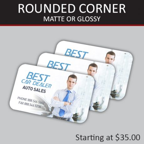 ROUNDED CORNER CARDS – Matte or Glossy