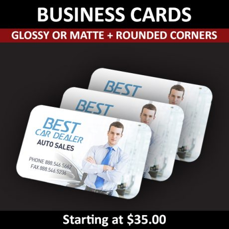 Business Cards – Rounded Corners