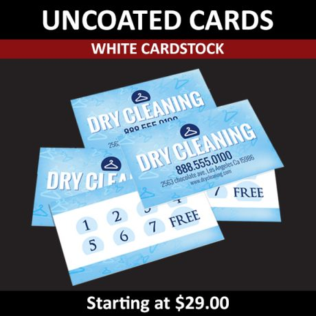 UNCOATED CARDS – White Cardstock