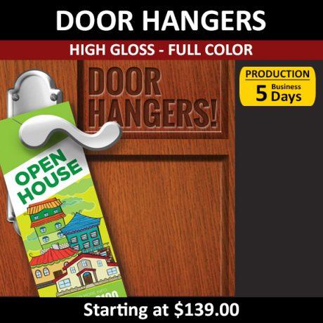 Door Hangers – High Gloss Full Color