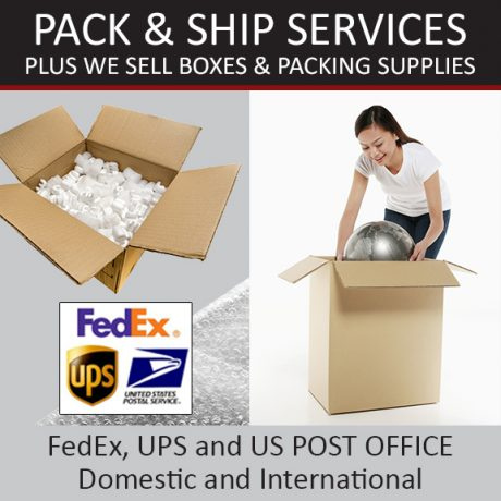 Pack & Ship Services
