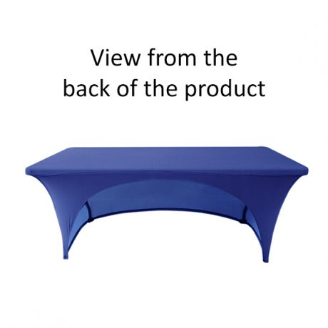 Stretch Table Throws – Product Pic 1 (view from back)